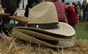Cowboyhut Stroh