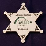 Sheriffstern Galeria Kaufhof