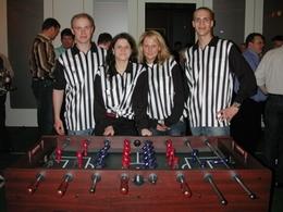 Schiedsrichter-Team
