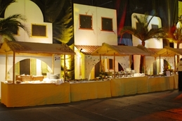 Deko-Häuser